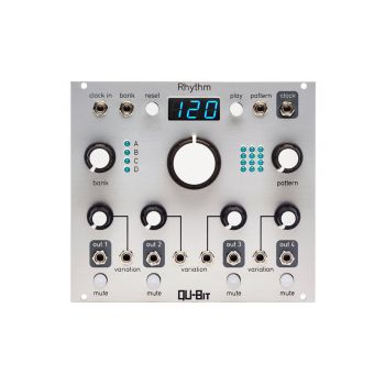 Qu-Bit Electronix Rhythm Eurorack Drum Sequencer Module