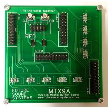 Futuree Sound Systems MTX9A Eurorack Active Buffer Board (MTX9)