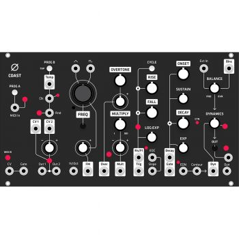 Grayscale Replacement Panel - 0-Coast (Black Matte)