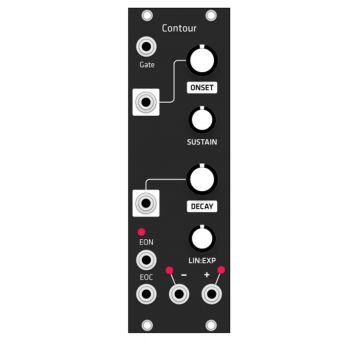 Grayscale Replacement Panel - Make Noise Contour (Black Matte)