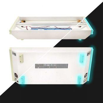 LZX Industries Vessel Eurorack Case - Powered (6U - 208hp) Glow In Dark
