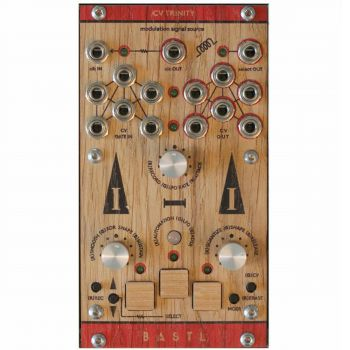 Bastl Instruments CV Trinity Eurorack 6 Channel Modulation Module (Wood)