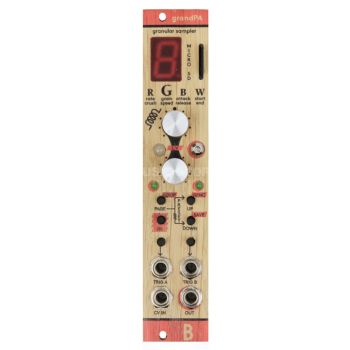 Bastl Instruments Grandpa Eurorack Granular Sampler Module (Wood)