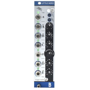 Bastl Instruments Little Nerd Eurorack Clock/Trigger Processor Module (Metal)
