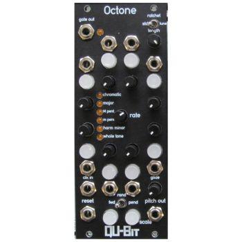 Qu-Bit Electronix Octone Eurorack Sequencer Module (Black)