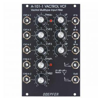 Doepfer A-101-1 V Eurorack Steiner Filter Module (Vintage Black)