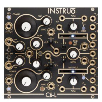 Instruo Cs-L Eurorack Dual Voltage Controlled Oscillator Module