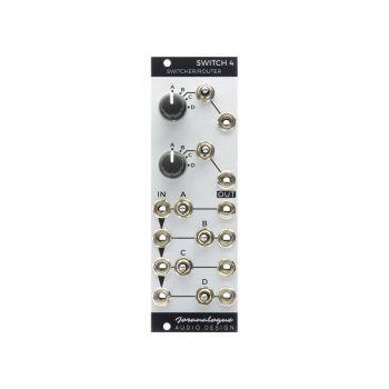 Joranalogue Switch 4 Eurorack Switcher/Router Module