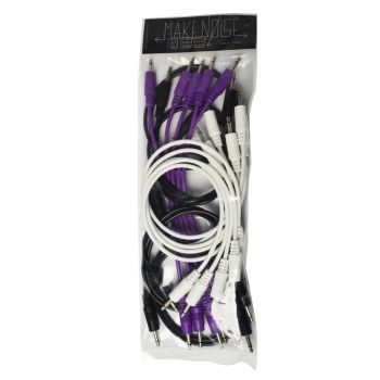 Make Noise Assorted Eurorack Patch Cables (15 Pack - Various)