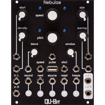Qu-Bit Electronix Nebulae MK2 Eurorack Sampler Module (Black)