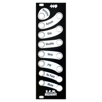 4ms SCM Breakout Replacement Panel (Black)