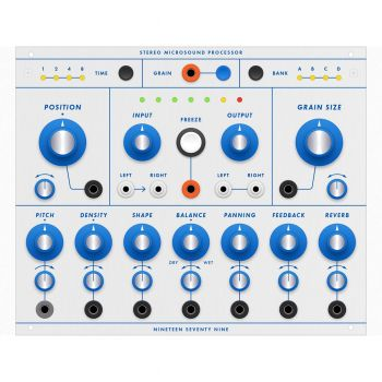 1979 SMP Buchla Format Stereo Microsound Processor Module (Clouds)