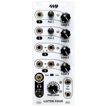 4ms Listen 4 Eurorack Audio Interface Module