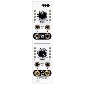 4ms Listen IN/OUT Eurorack Audio Interface Module