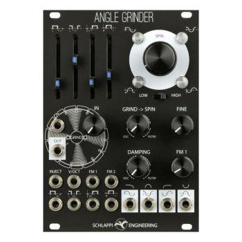 Schlappi Engineering Angle Grinder Eurorack Oscillator Module (Black)