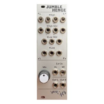 ALM Busy Circuits Jumble Henge Eurorack Stereo Spectral Mixer Module