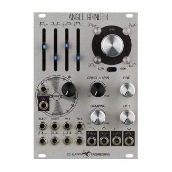 Schlappi Engineering Angle Grinder Eurorack Oscillator Module (Silver)
