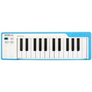 Arturia MicroLab Compact USB MIDI Controller (Blue)