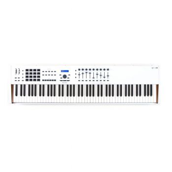 Arturia Keylab 88 MKII Piano Weighted USB Controller - White (B-Stock)