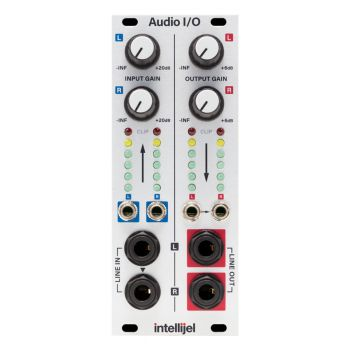 Intellijel Audio I/O Eurorack Module