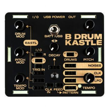 Bastl Instruments Kastle Drum Semi-Modular Desktop Synth