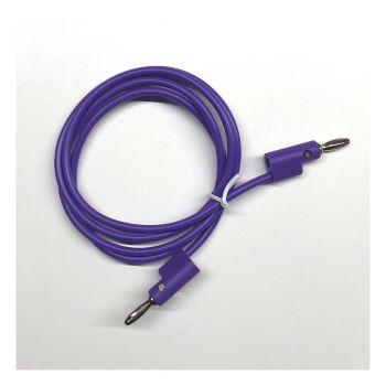Buchla Banana Patch Cable 100cm (Violet)