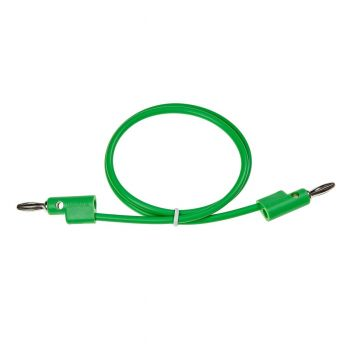 Buchla Banana Patch Cable (50cm Green)