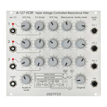 Doepfer A-127 VC Triple Resonance Eurorack Filter Module