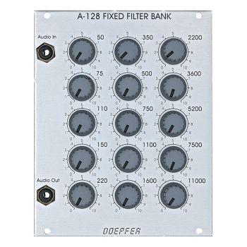 Doepfer A-128 Fixed Filter Bank Eurorack Module
