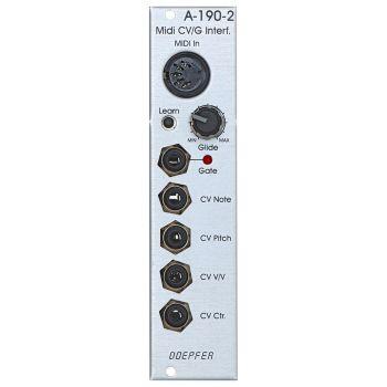 Doepfer A-190-2 Eurorack MIDI to CV/Gate Module