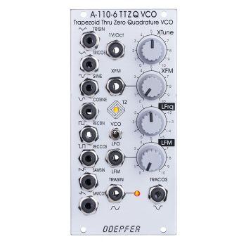 Doepfer A-110-6 Eurorack Trapezoid Thru Zero VCO Module