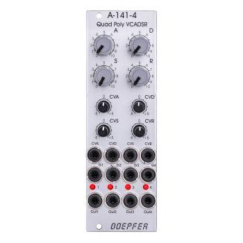 Doepfer A-141-4 Eurorack Quad Poly VCADSR Module