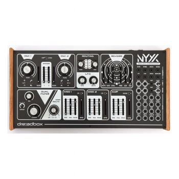 Dreadbox NYX2 Paraphonic Analogue Desktop Synth