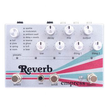 Empress Effects Reverb Effects Processor