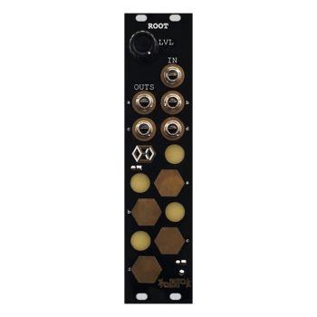 Folktek Modular Root Eurorack Multi Channel Touchplate Router Module (Gold)