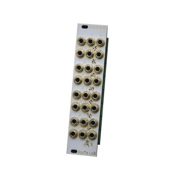 Jolin LabAgogo Eurorack LPG & MIxer Module (White Mirror)