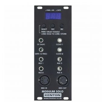 Kenton Electronics Modular Solo Eurorack MIDI to CV Module (Black)