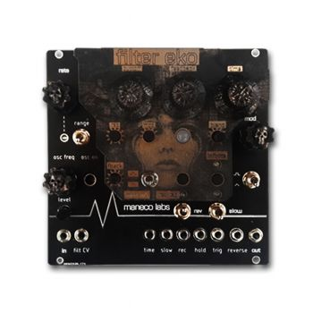 Maneco Labs Filter Echo Eurorack Filter & Delay Effects Module
