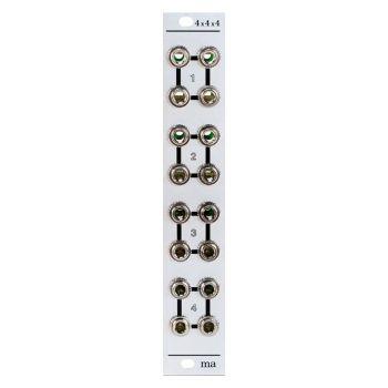 Manhattan Analog 4x4x4 Eurorack Multiple Module