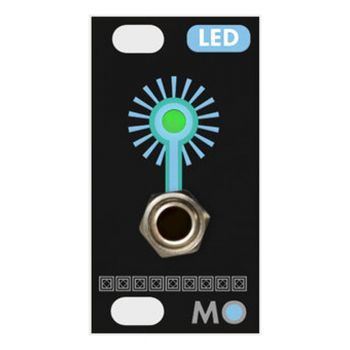 Mosaic LED 1U Eurorack Module (Black)