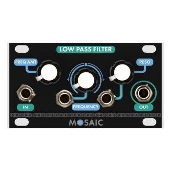 Mosaic Low Pass Filter 1U Eurorack Module (Black)
