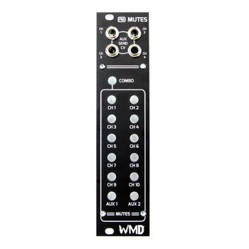 WMD PM: Mutes Expand Eurorack Module (Performance Mixer)