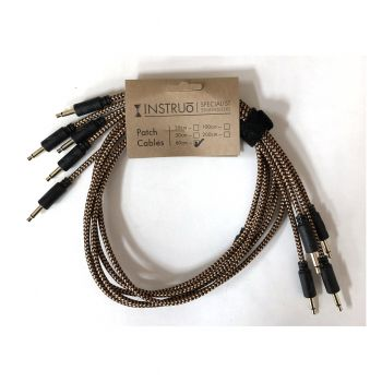 Instruo Eurorack Patch Cable (60cm * 5 Pack)