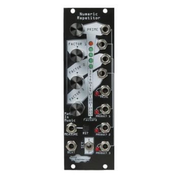 Noise Engineering Numeric Repetitor Eurorack Gate Sequencer Module (Black)