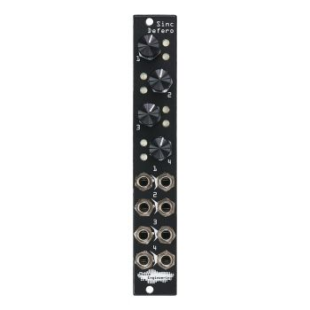 Noise Engineering Sinc Defero Eurorack Buff Mult Module (Black)