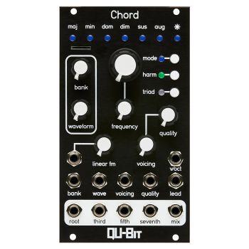 Qu-Bit Electronix Chord V2 Eurorack Multi-Oscillator Module (Black)