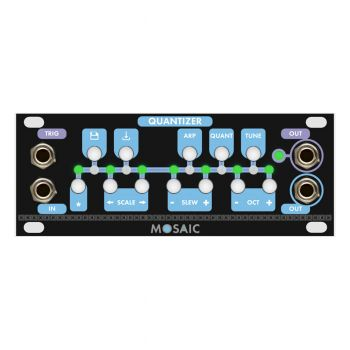 Mosaic Quantizer 1U Eurorack Module (Black)