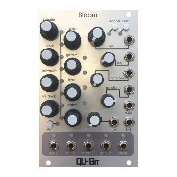 Qu-Bit Electronix Bloom Eurorack Fractal Sequencer Module (Silver)
