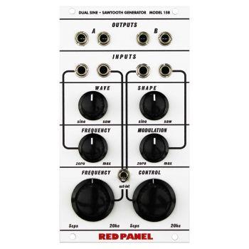 Red Panel 158 Eurorack Dual Channel Oscillator Module (Buchla 100 Series)