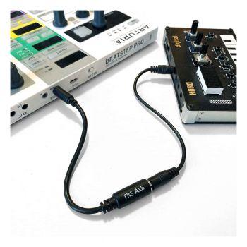 Retrokits 3.5mm TRS A to TRS B MIDI Adaptor